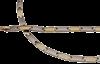 Bild von Titan Armband 19cm bicolor