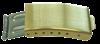 Bild von Standard-Faltverschluß Edelstahl, 16mm/10mm Beschichtung:  PVD gelb, 1 VPE = 2 St.
