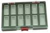 Bild von Sortimentbox 1,6 x 14,5 x 9,5 cm 12 Fächer