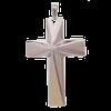 Bild von Anhänger Edelstahl Kreuz
