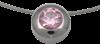 Bild von Anhänger  Edelstahl - rose mit Kette