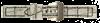 Bild von Aligatornarbung gleichlaufend weiß 18-24mm Anstoß