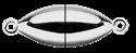 Bild für Kategorie Schlößchen Edelstahl / 925/-rhod. / Titan