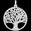 Bild von 925-/ Anhänger rhod. Lebensbaum groß