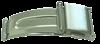 Bild von Druck-Faltverschluß Edelstahl 1 VPE = 2 St.