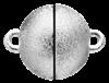 Bild von Edelstahl Schlößchen Kugel  6,5mm/8mm/10mm/12mm matt