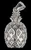 Bild von 925-/ Anhänger rhod. Ananas
