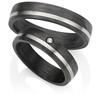 Bild von Ring Titan-Carbon / Herrenring Gr. 54-70