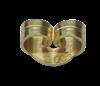 Bild von Ohrmuttern, Standard Titan PVD Gold 1 VPE = 4 St.