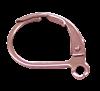 Bild von Brisuren, Standard, offene Öse Edelstahl PVD rosé 1 VPE = 3 St.