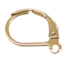 Bild von Brisuren, Standard, offene Öse Edelstahl PVD gold 1 VPE = 3 St.