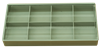 Bild von Sortimentbox 2,5 x 19,5 x 9,5 cm 8 Fächer